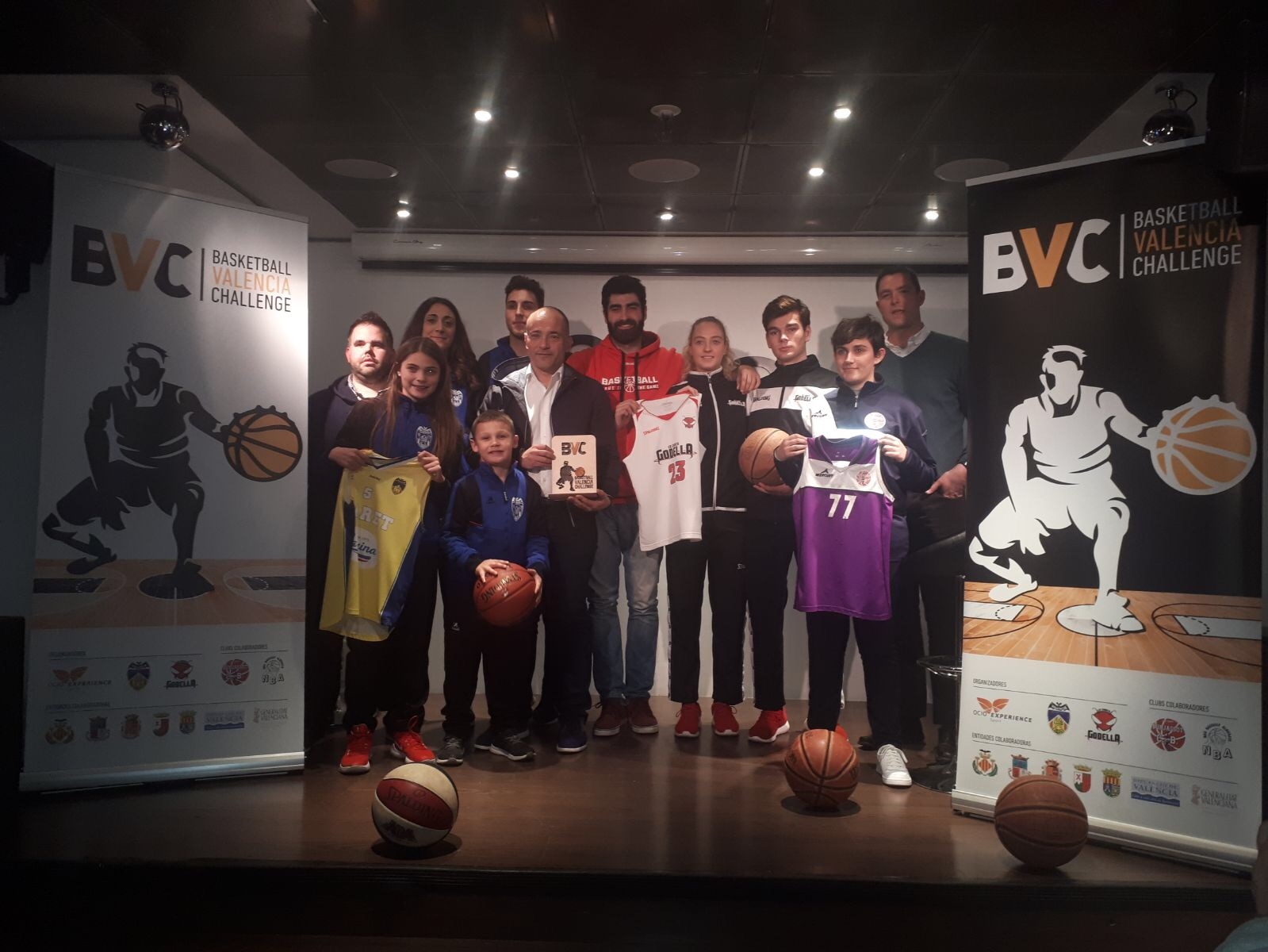 Presentación oficial  del Basketball Valencia Challenge 2018