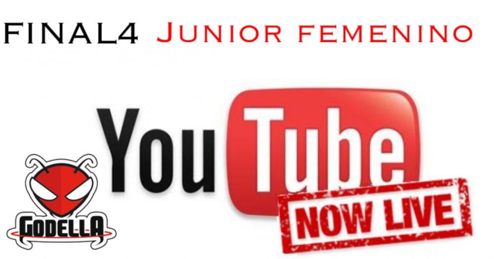 Final a 4 JUNIOR FEMENINO. Emisión en directo.