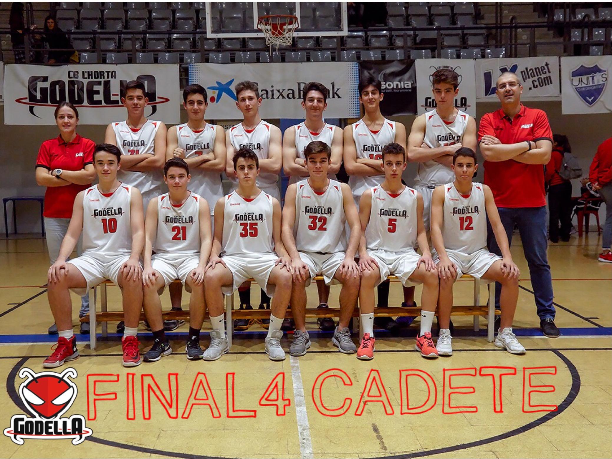 El próximo fin de semana comienza  LA FINAL FOUR CADETE  para los chicos del #CadMascA