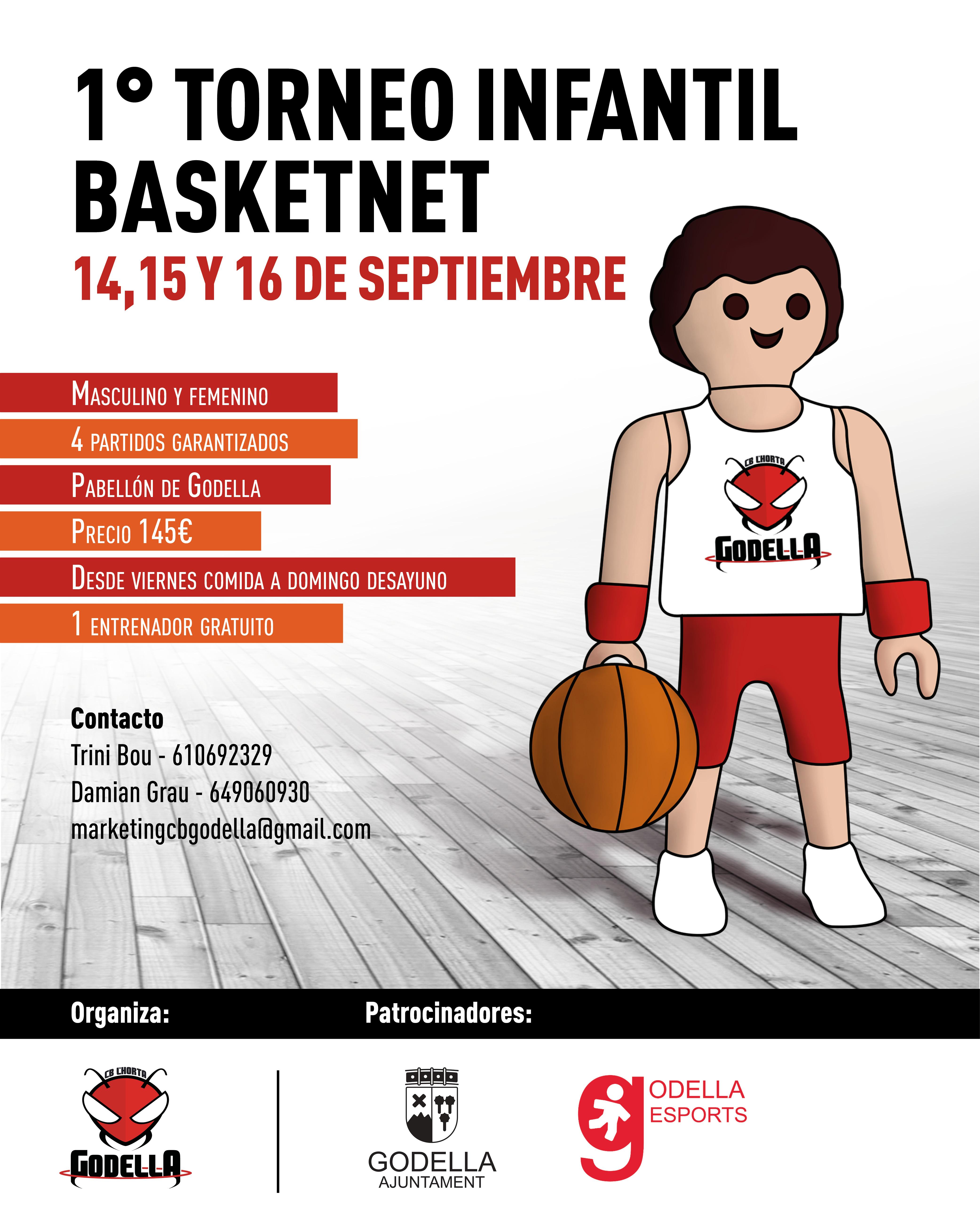 1r Torneo Infantil Basketnet